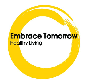 Embrace Tomorrow Healthy Living Logo